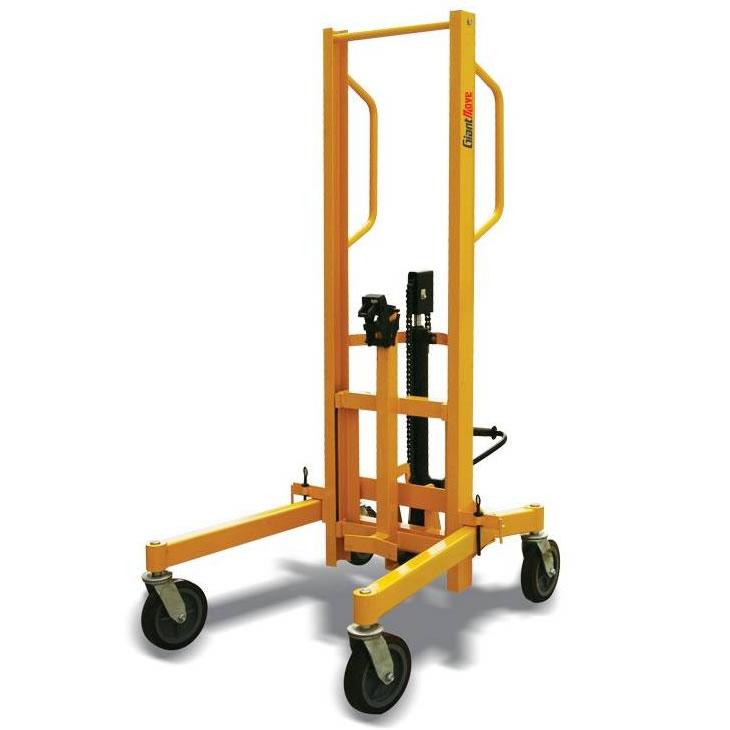Hydraulic fork spreader : Lifting spreader beams ergonomic hydraulic drum handler
